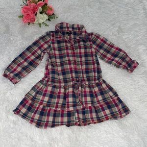 Baby Gap plaid dress size 3T